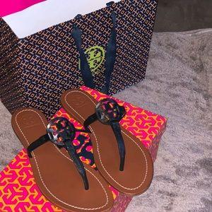 Tori Burch Sandals size7 1/2.